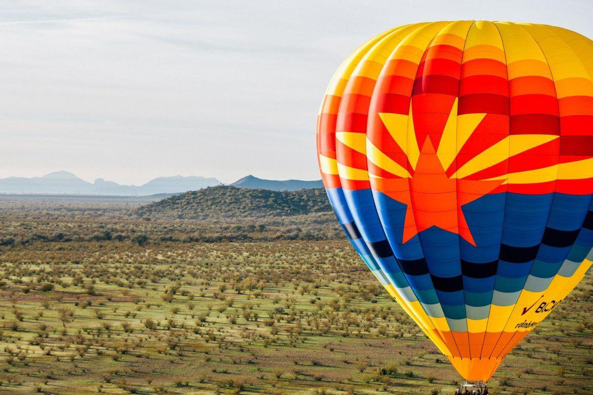 Rainbow Ryders hot air Balloon flight