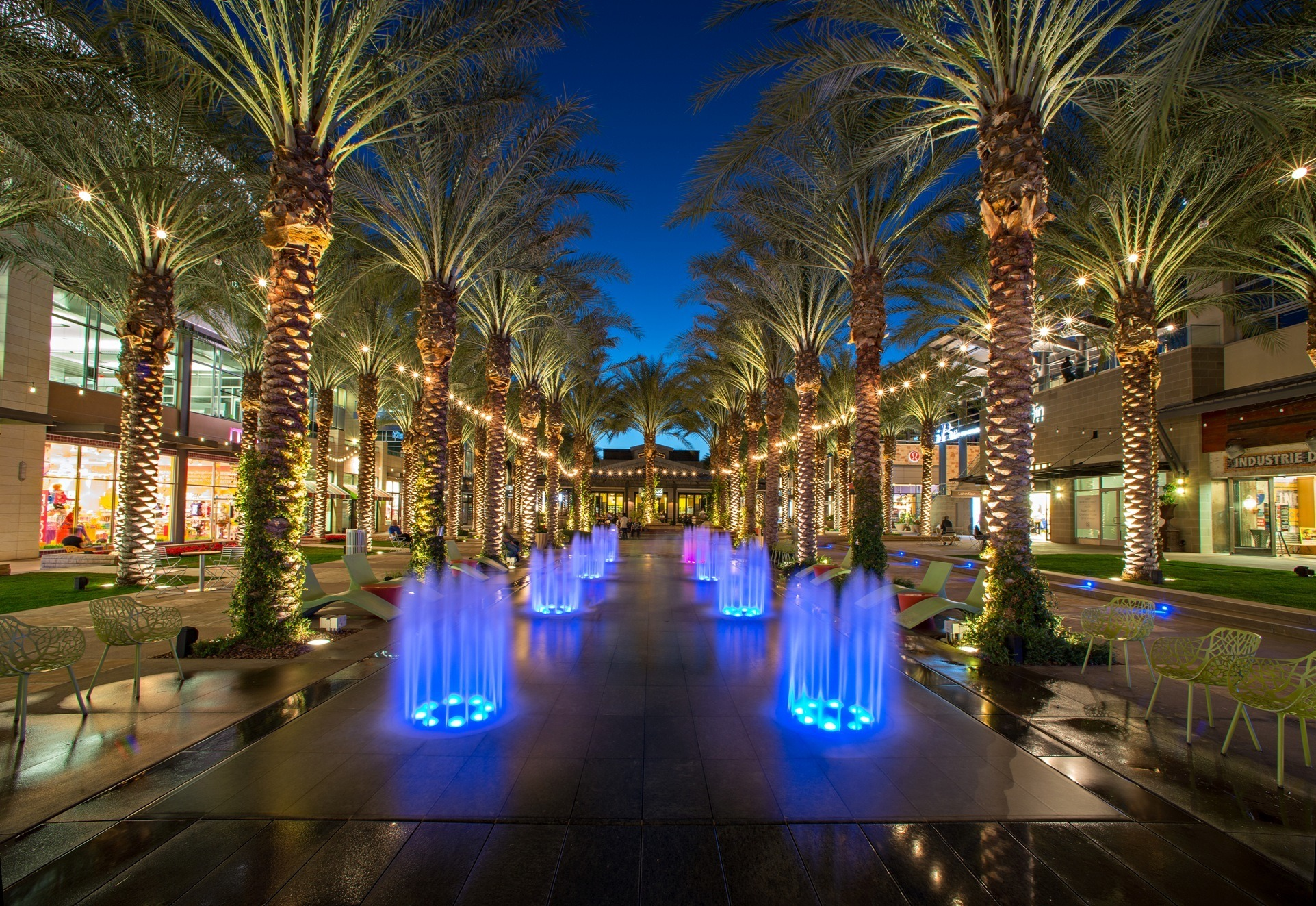 Scottsdale Quarter Fountain