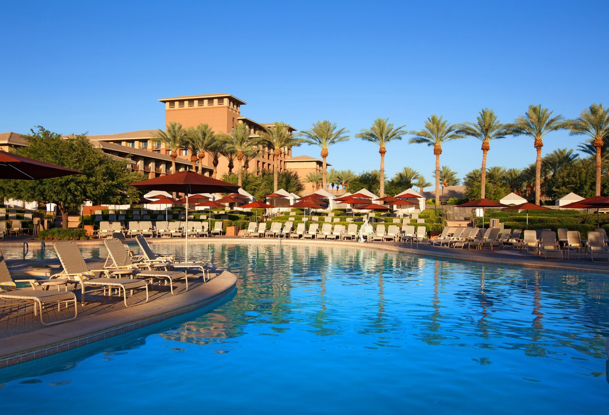 One of the pools at The Westin Kierland Resort & Spa