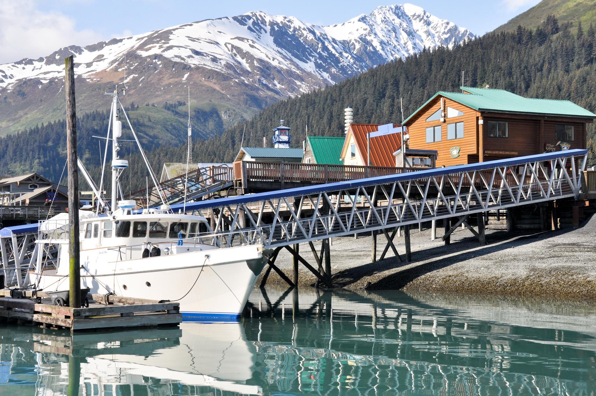 Seward, on the Western Coast of Alaska