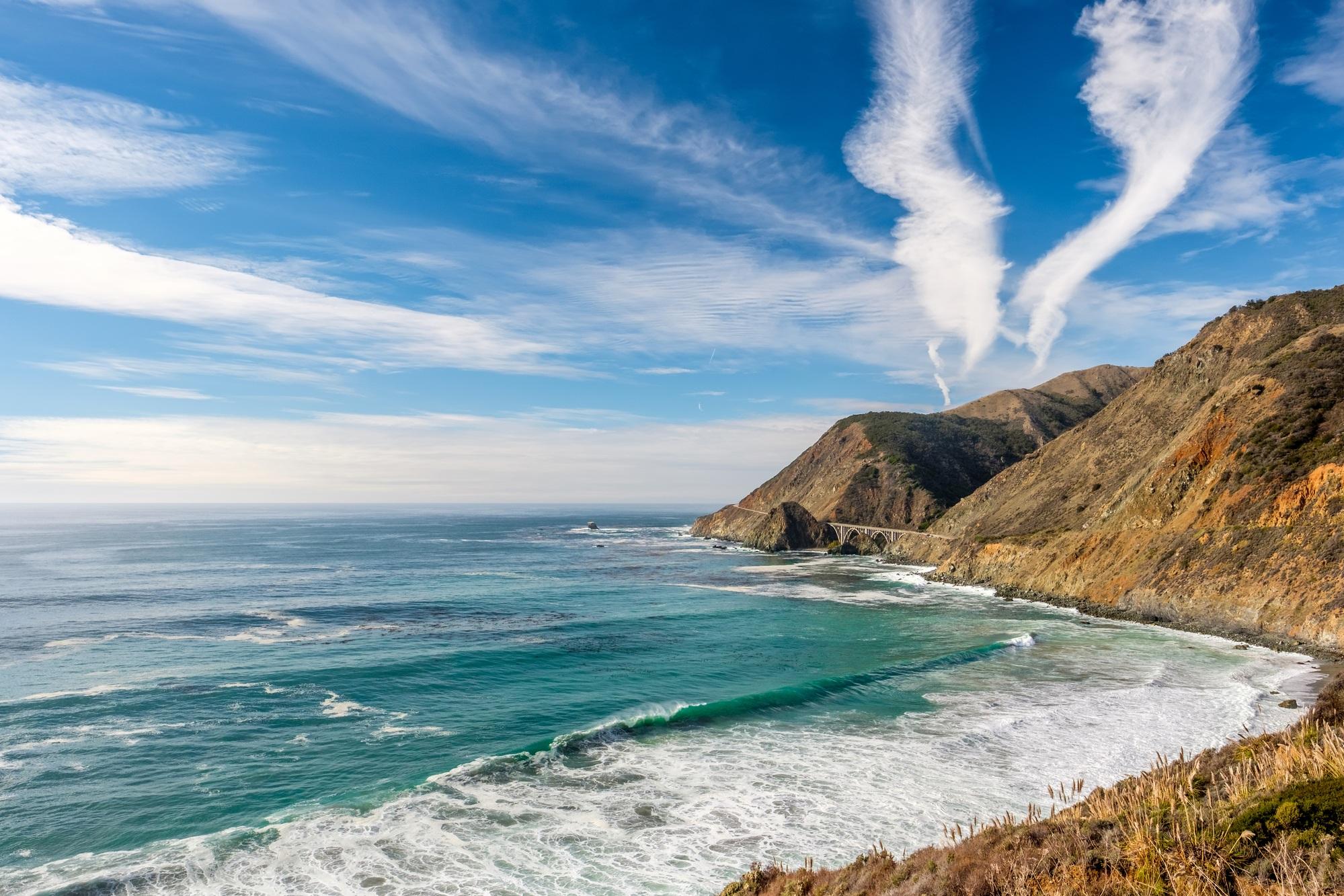 The Pacific Coast in California