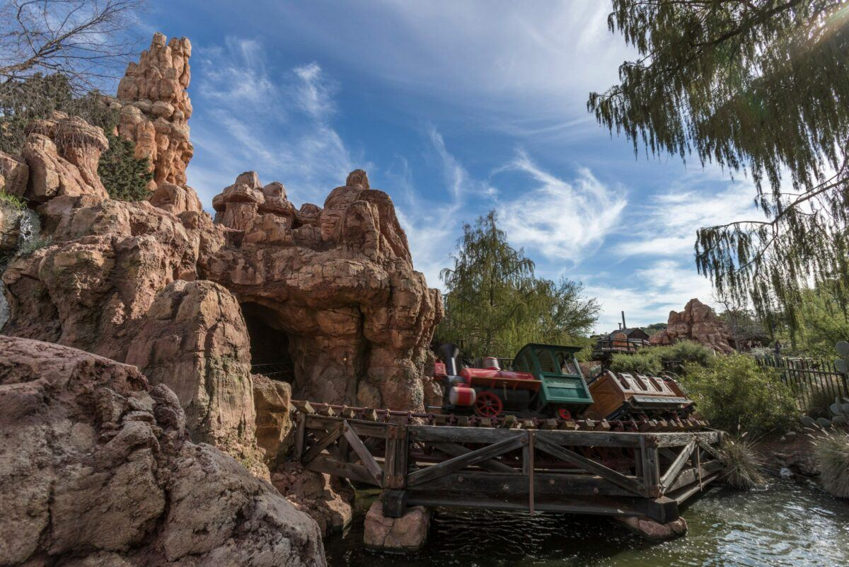 FASTPASS ride Big Thunder Mountain Railroad at Disneyland