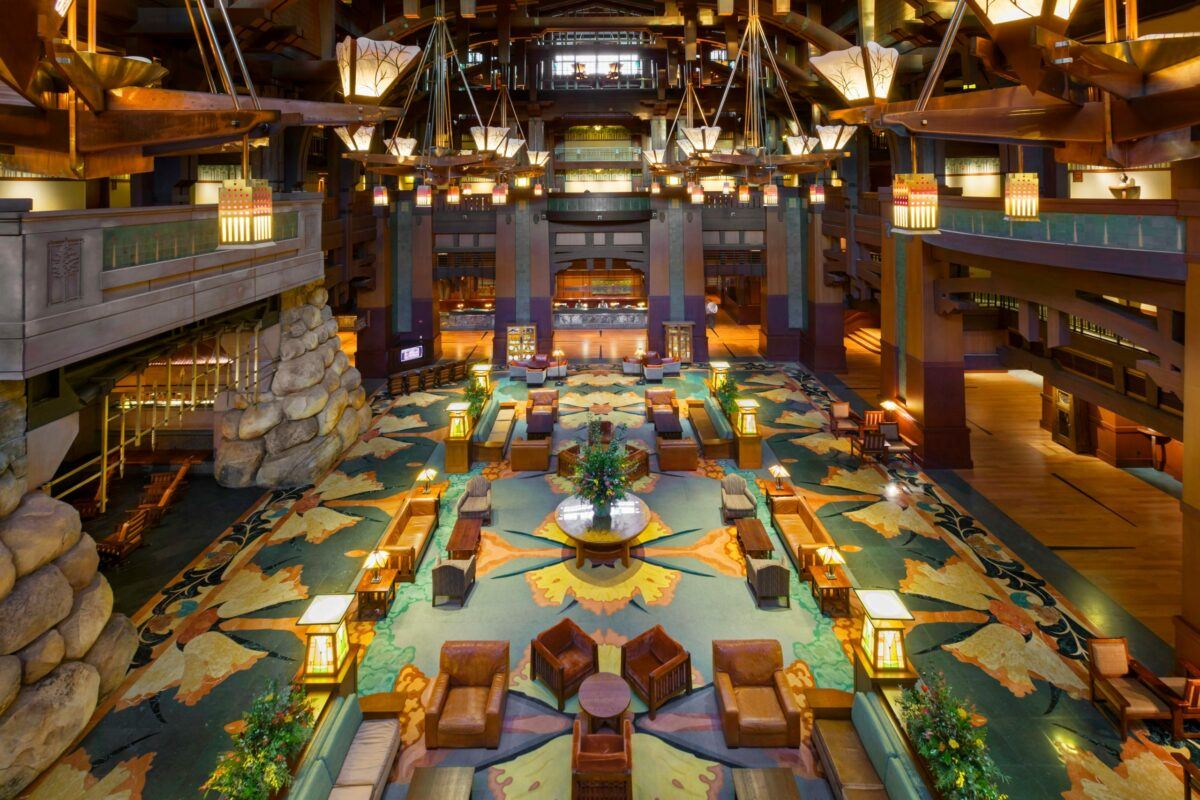 Disney's Grand Californian Resort & Spa lobby
