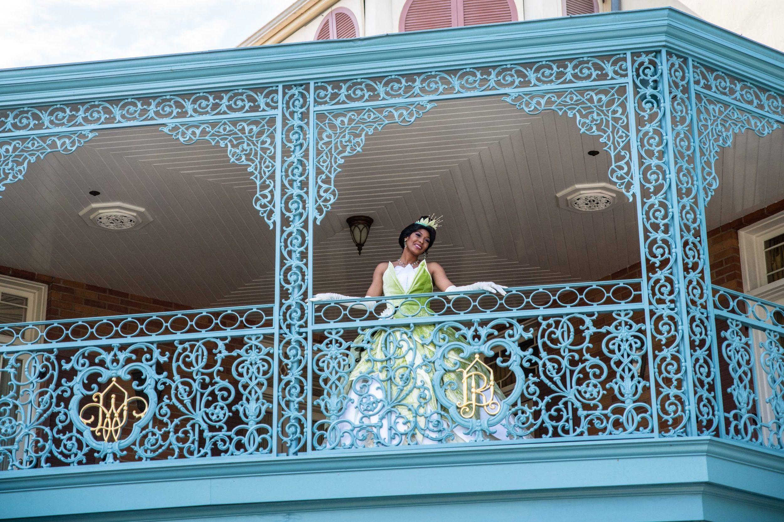 Princess Tiana at Disneyland