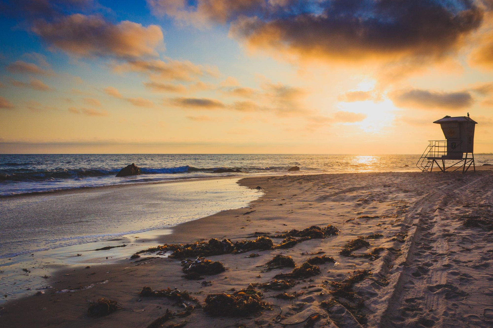 Crystal Cove Beach in Orange County, CA