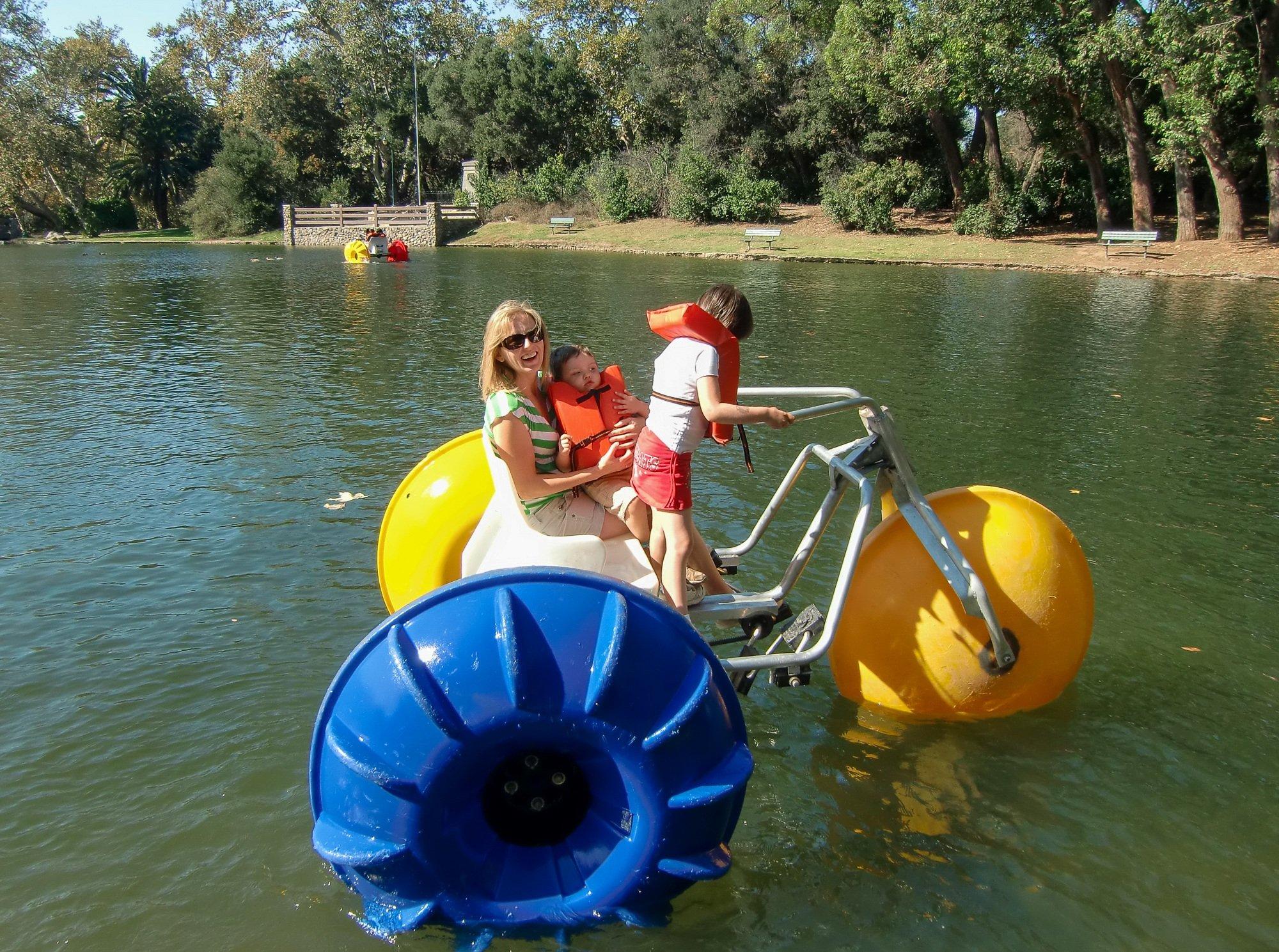 Irvine Regional Park in Orange County with kids