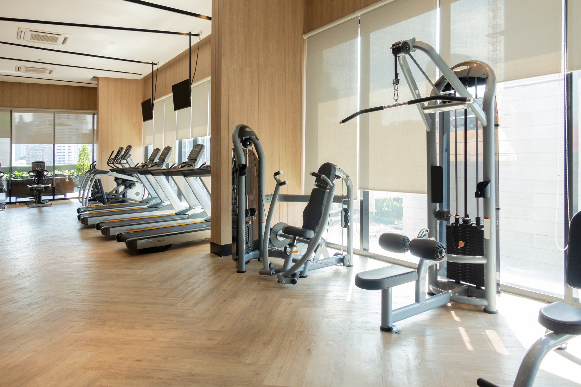 Business travel tip: make use of the hotel gym during corporate travels