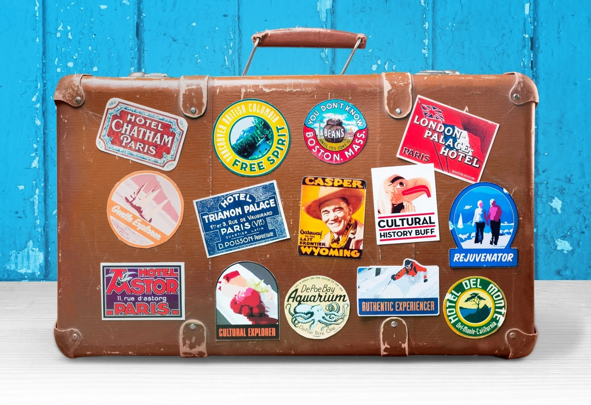 Add flair to your luggage to make it stand out from the rest