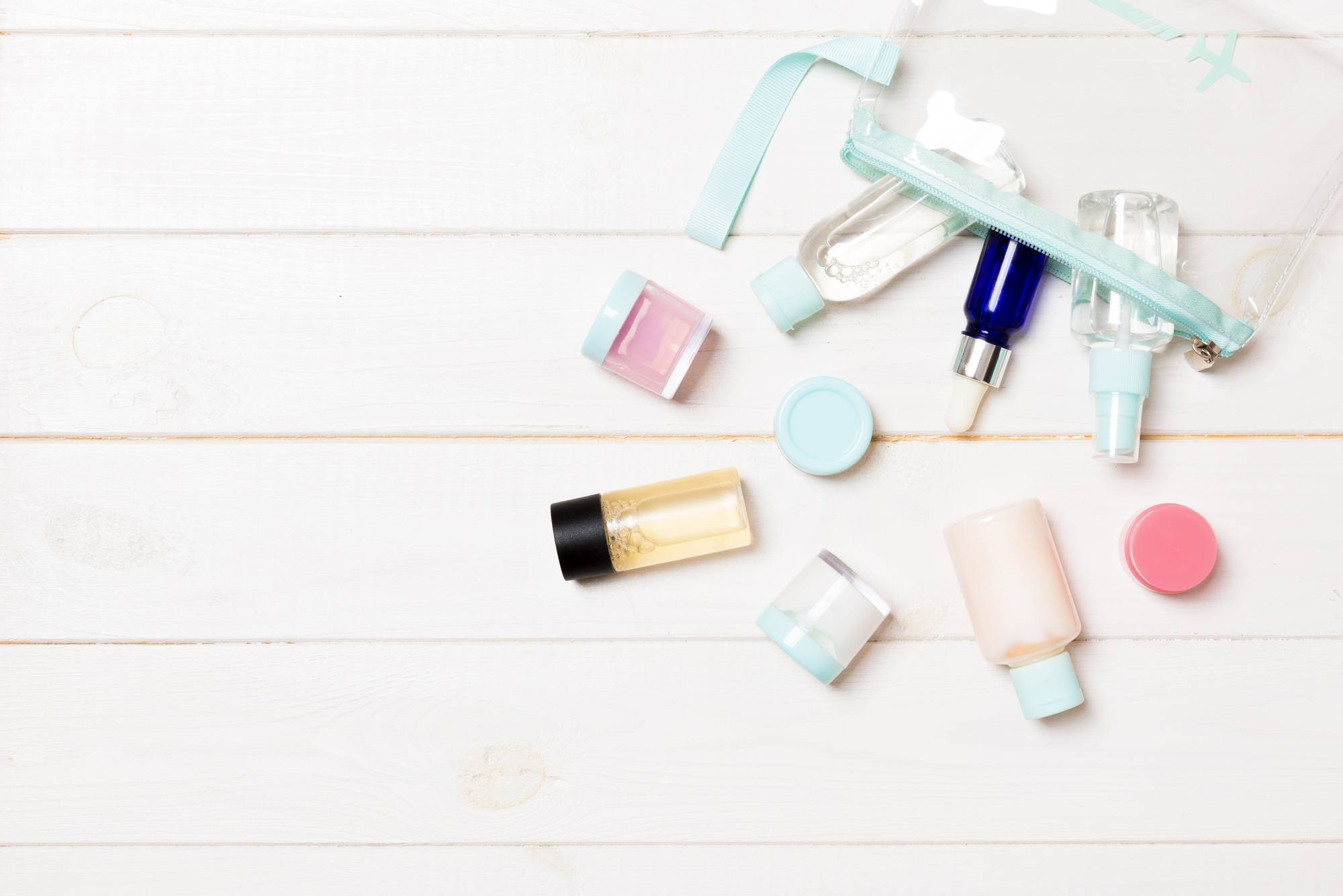 Keep a separate set of travel toiletries