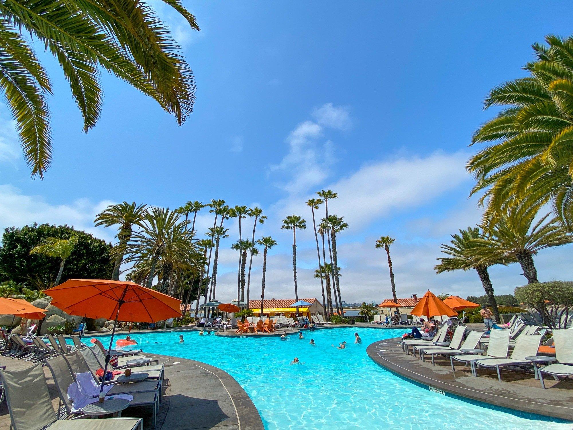 San Diego Mission Bay Resort zero-entry pool