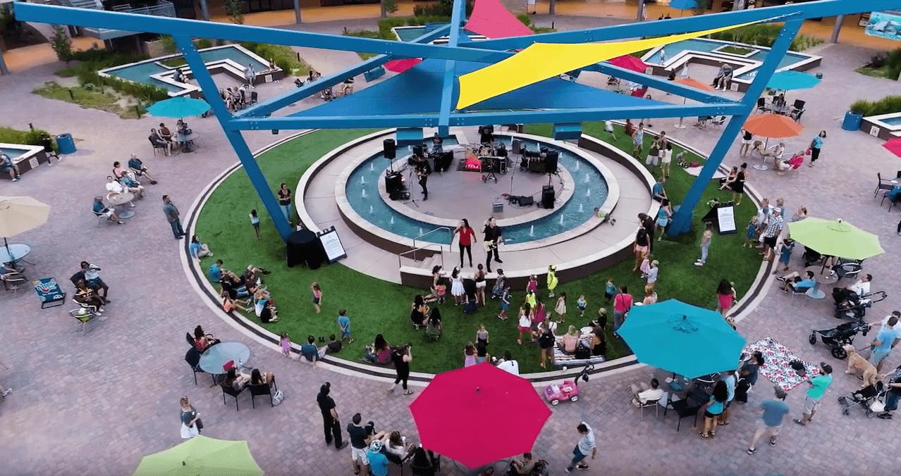 Arizona Boardwalk in Scottsdale with kids