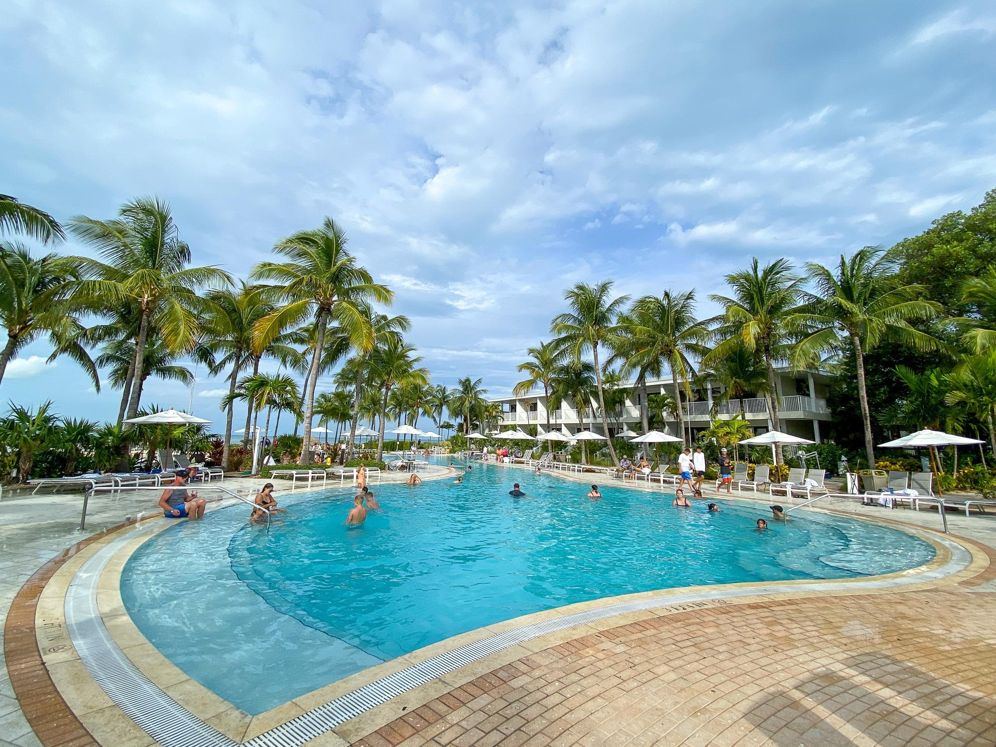 Main Hawks Cay Resort Pool