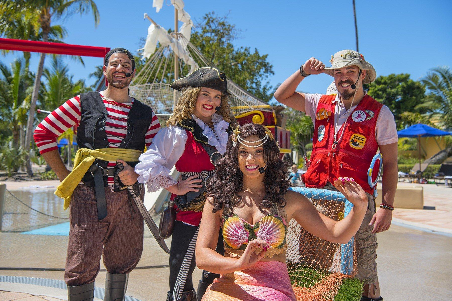 Swashbuckling Pirate Show at Hawks Cay Resort
