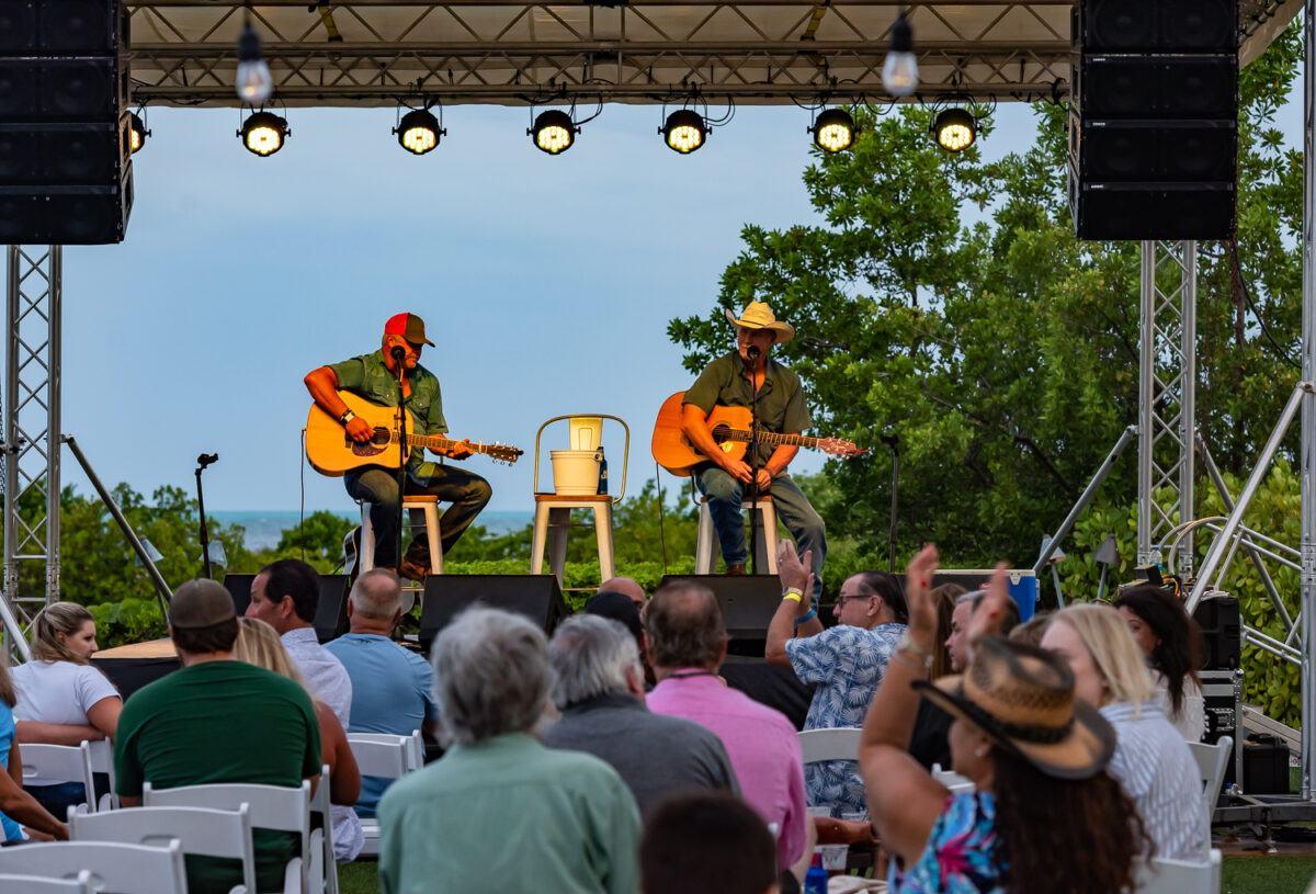 Live music performance at Hawks Cay Resort