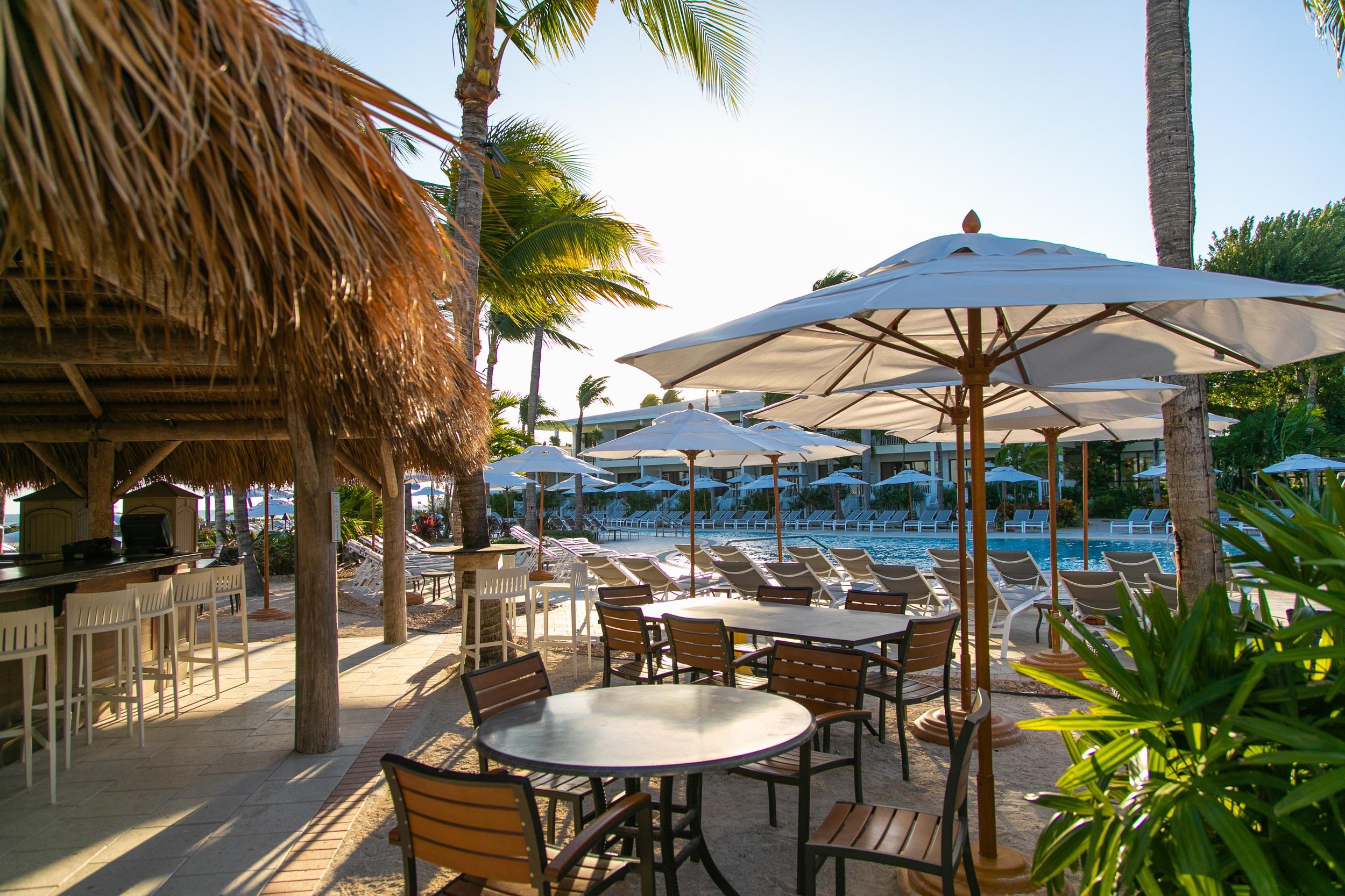 Tiki Grill near the Main Resort Pool at Hawks Cay Resort