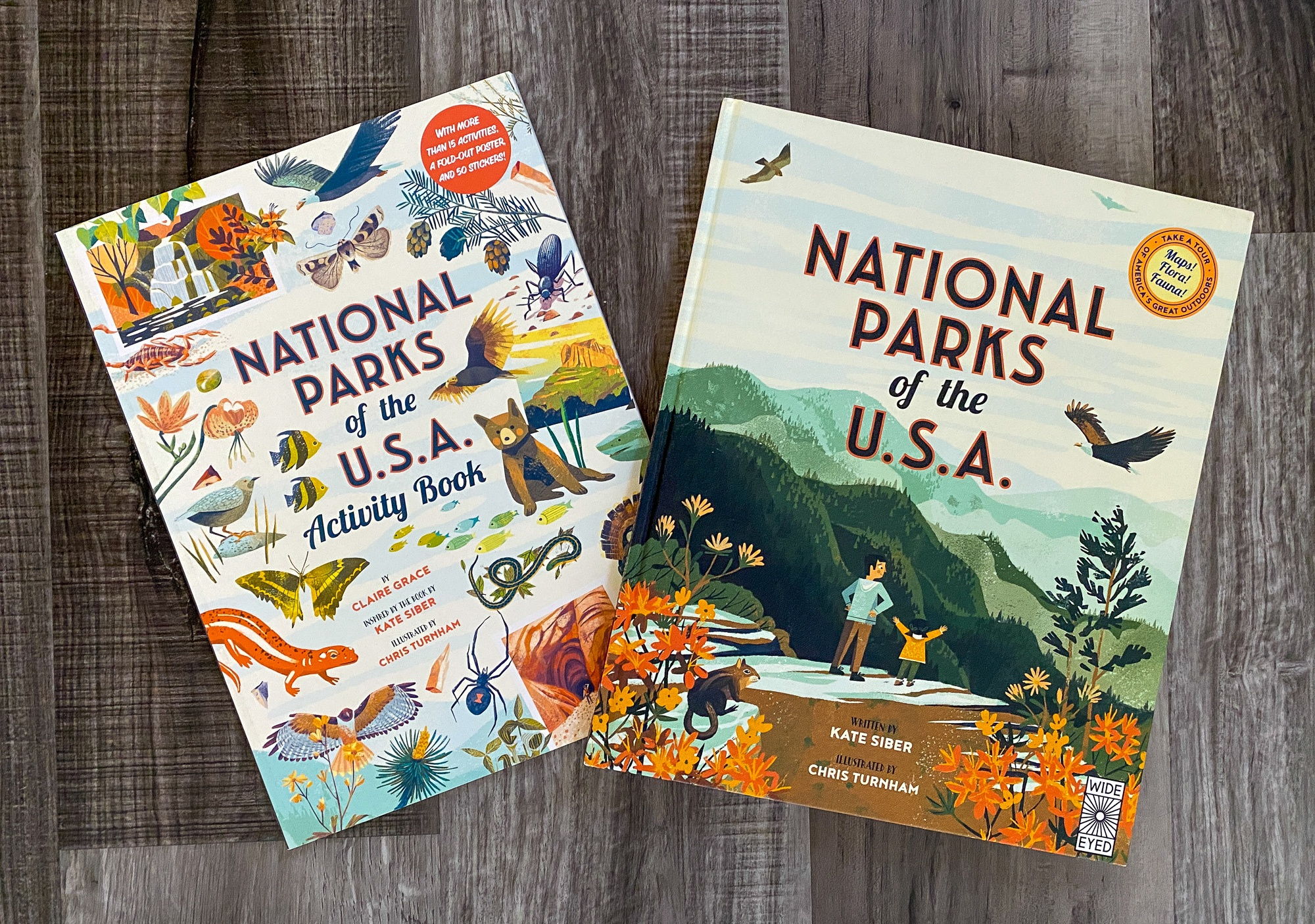 Explore the best national parks for kids with National Parks of the USA and National Parks of the USA Activity Book by Quarto Books