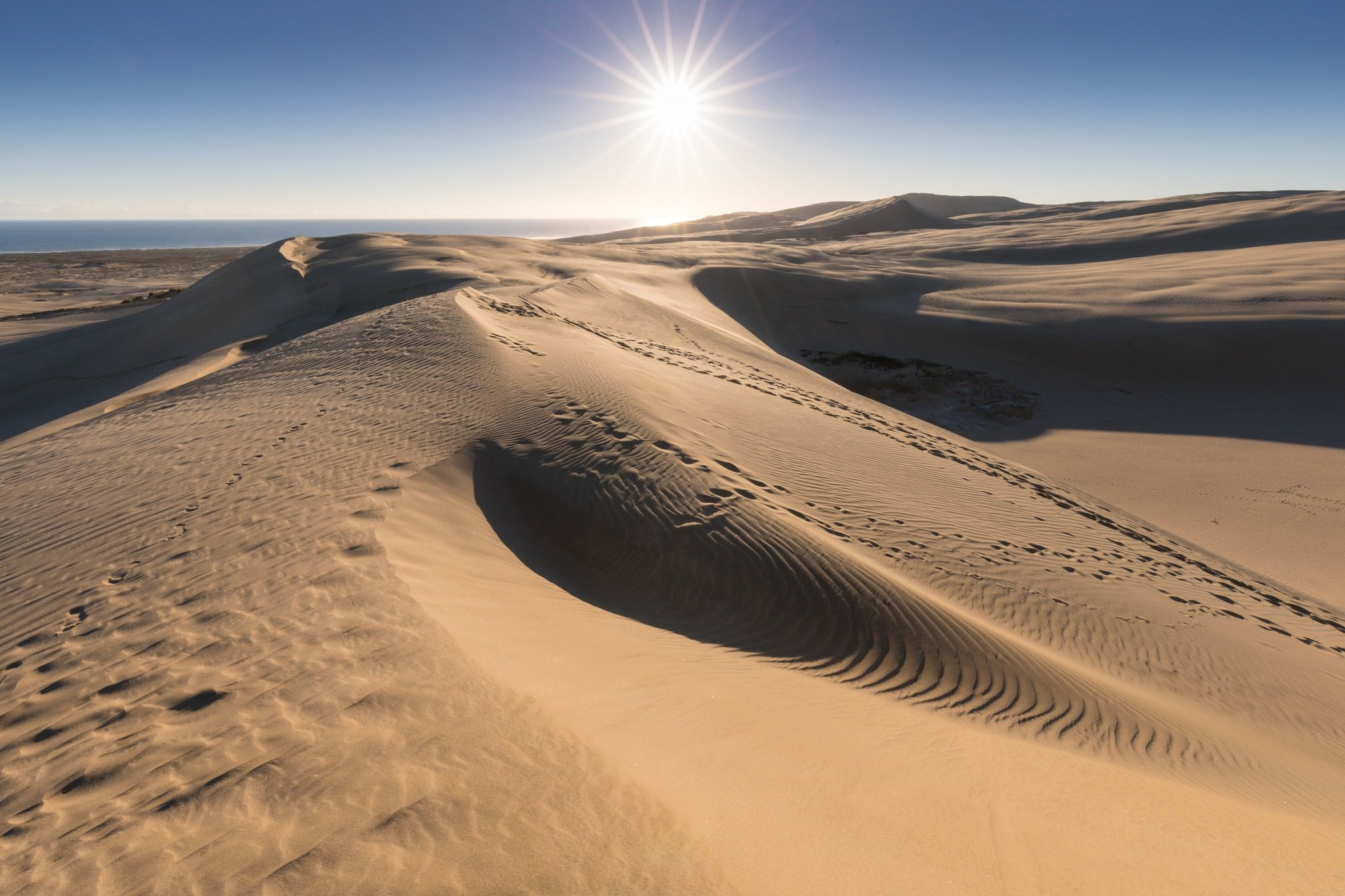 Mesquite Flat Dunes in Death Valley National Park