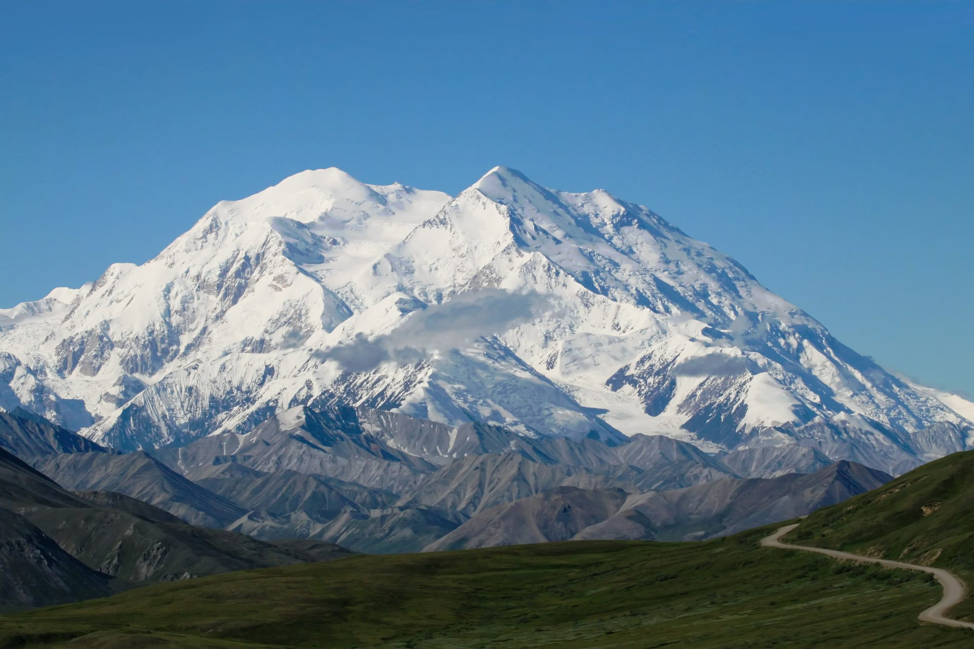Denali Mountain, formerly known at Mount McKinle