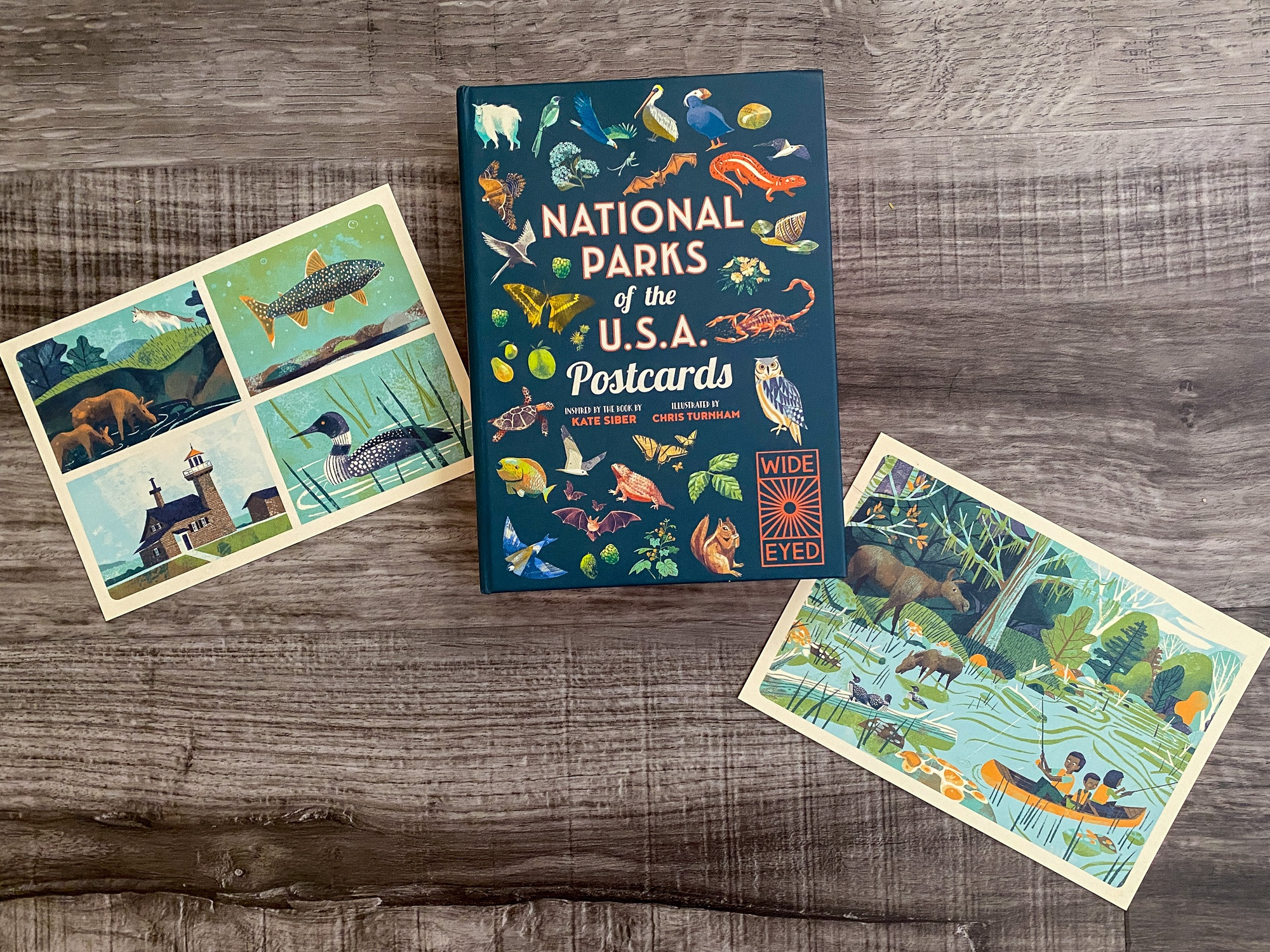 """Isle Royale postcards from """"National Parks of the USA Postcards"""""""