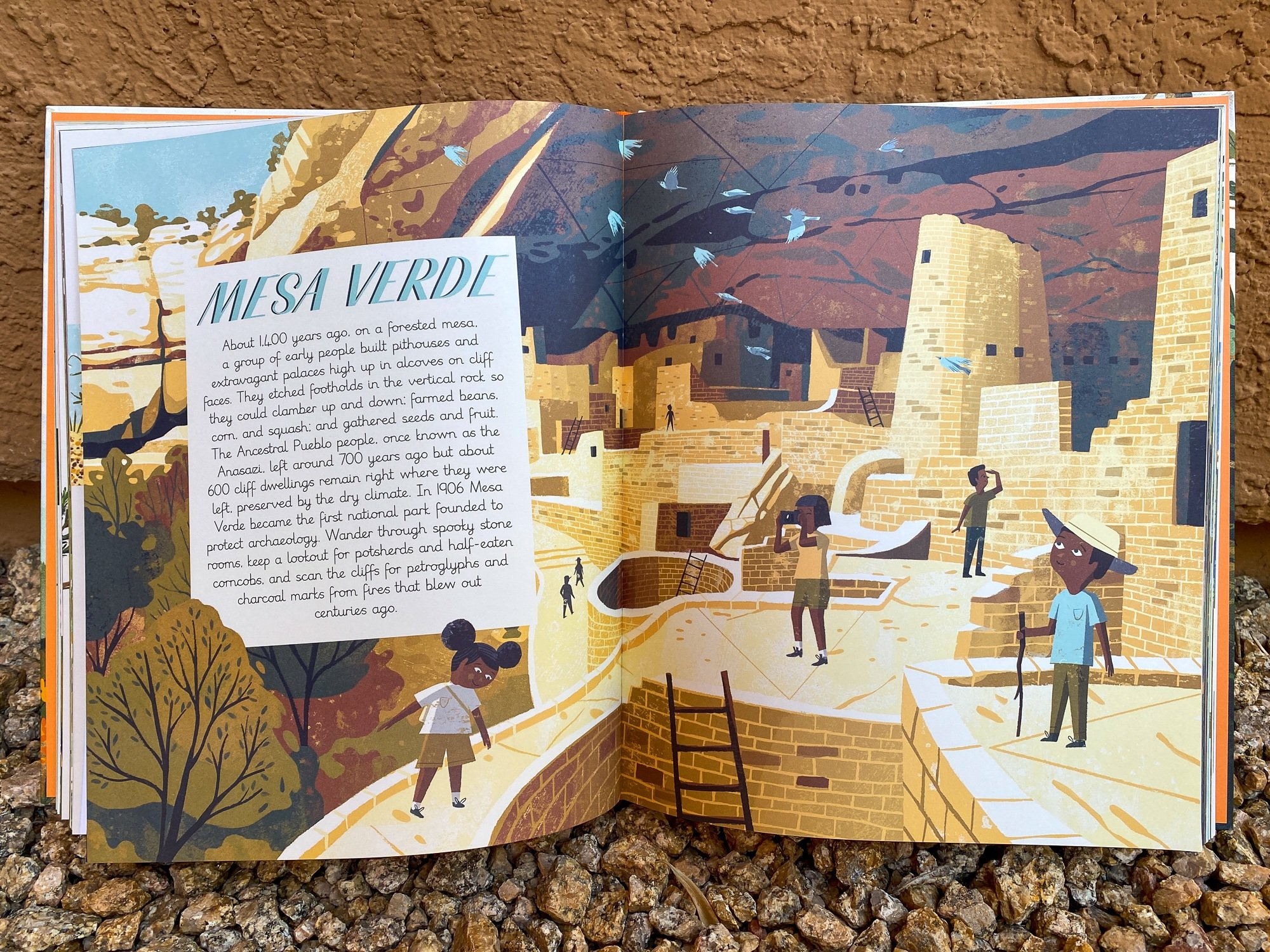 """Introduction to Mesa Verde in """"National Parks of the USA"""""""