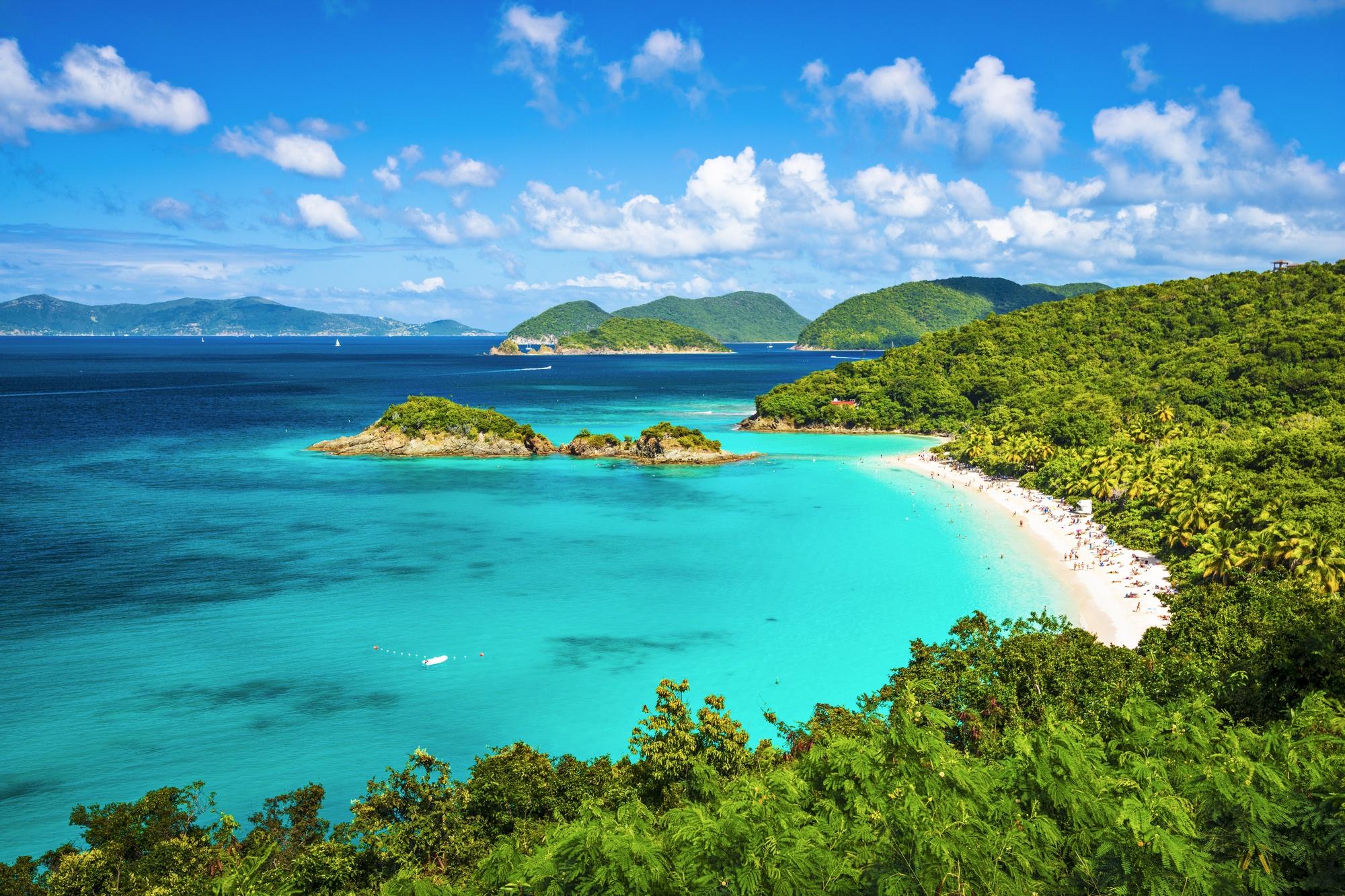 Trunk Bay in Virgin Islands National Park